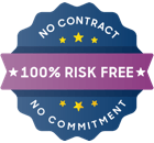 risk free badge
